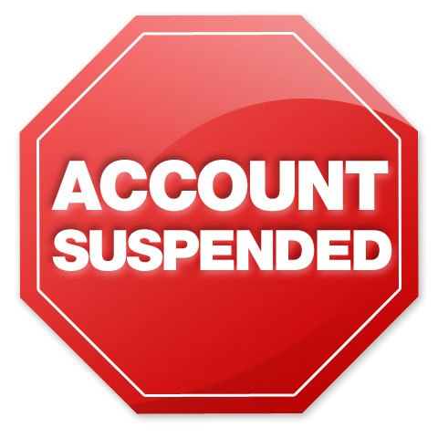 Account-suspended
